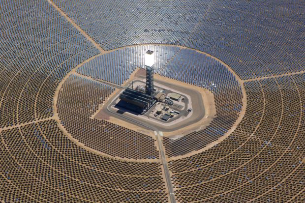 Ivanpah solar power