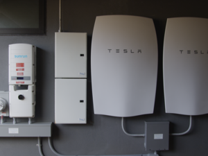 Sunrun Tesla battery system