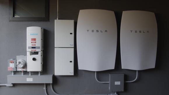 Sunrun Tesla battery system