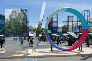 Google I/O sign