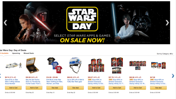 star wars amazon
