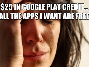 the list android struggles