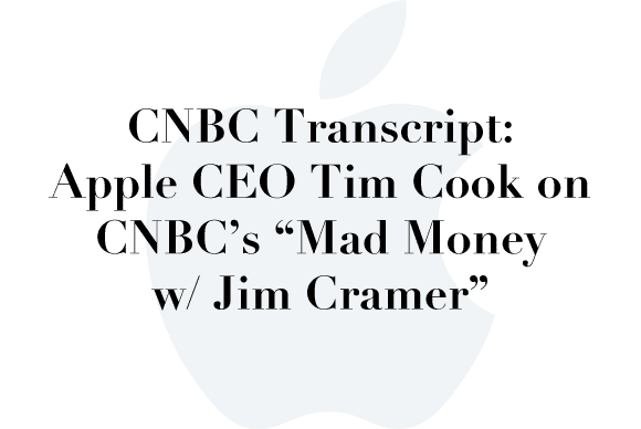tim cook mad money