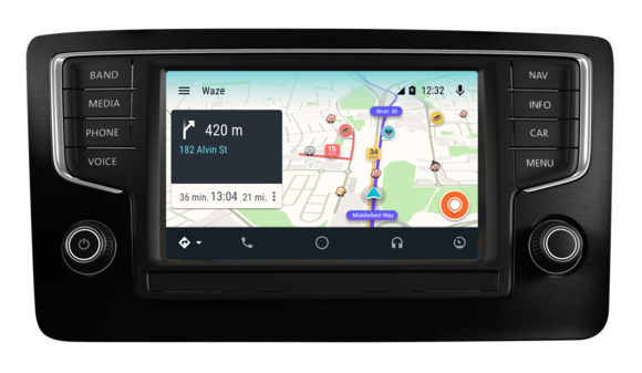 android auto anywhere google 39 s app will work in any car plus it adds waze support greenbot. Black Bedroom Furniture Sets. Home Design Ideas