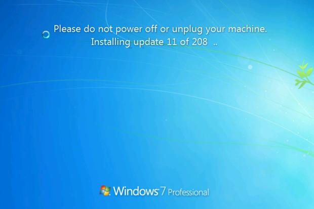 rollup update windows 7 sp1