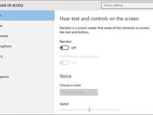 windows 10 narrator