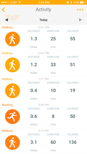 withings go health mate app