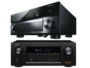 Yamaha and Denon AV receivers