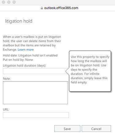 27 litigation hold days