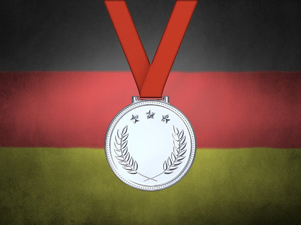 Germany wins silver