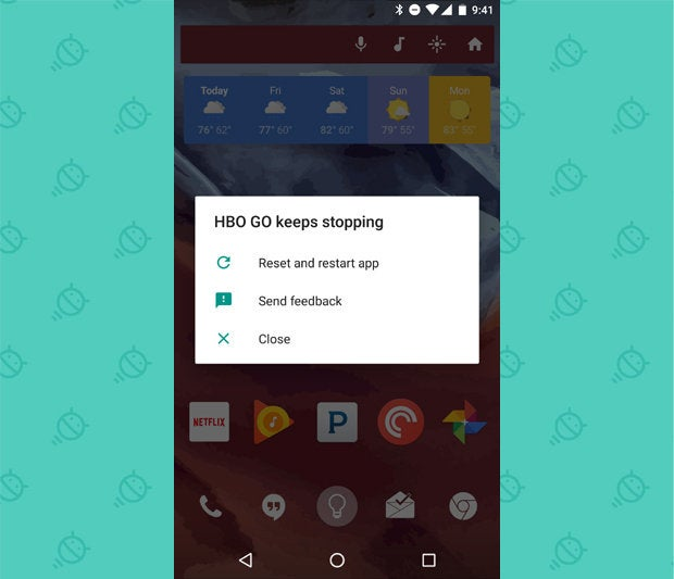 Android N Beta App Crashes