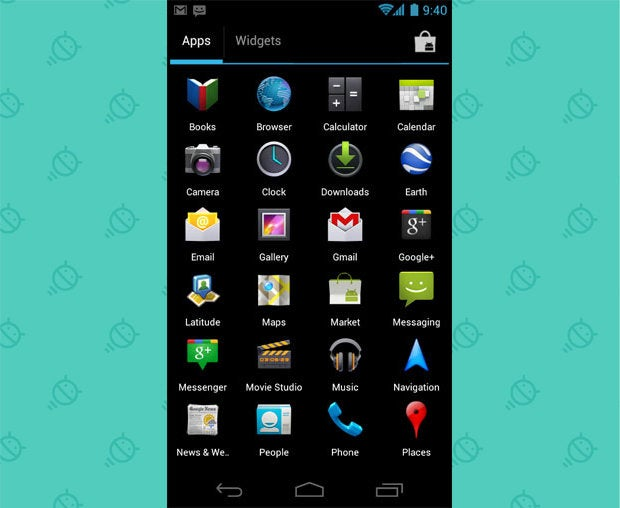 Android Widgets App Drawer