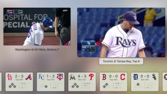 appletv mlb side by side