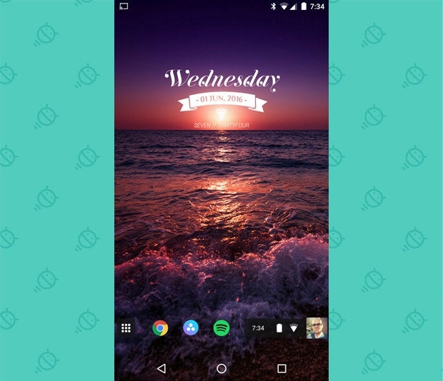Awesome Android Home Screens: The Chrome Phone (1)