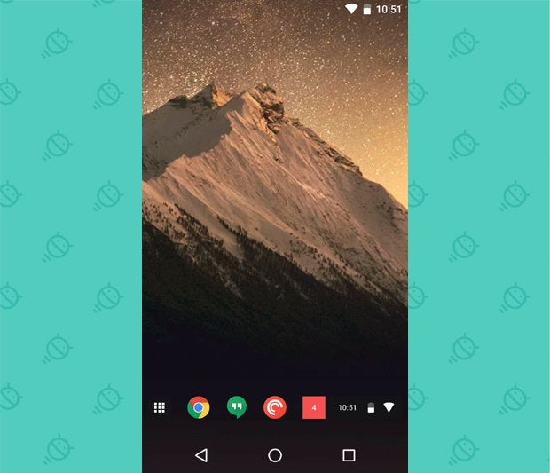 Awesome Android Home Screens: The Chrome Phone (3)