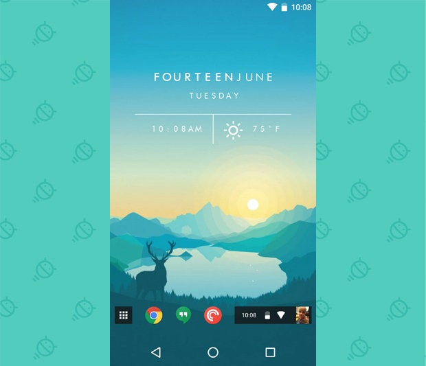 Awesome Android Home Screens: The Chrome Phone (4)