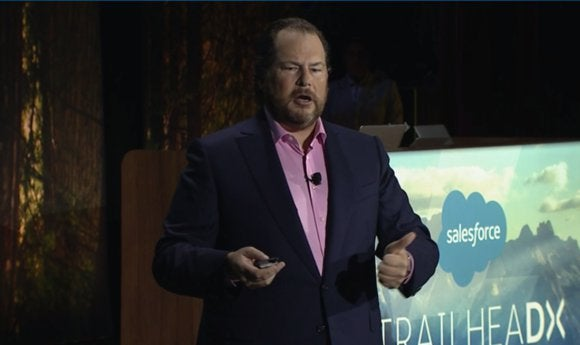 Salesforce Benioff TrailheaDX