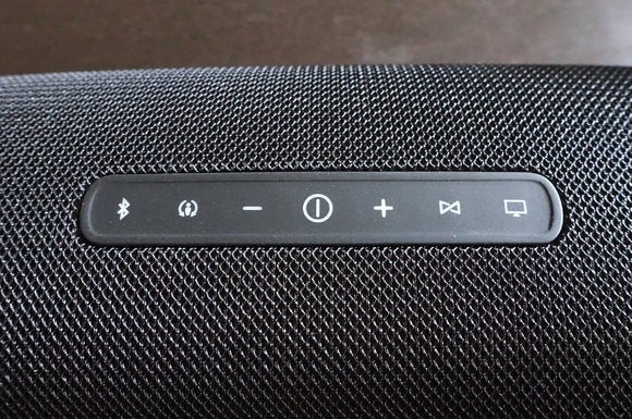 JBL Boost TV buttons