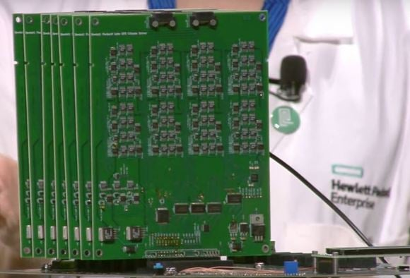 HPE shows off a computer intended to emulate the human brain