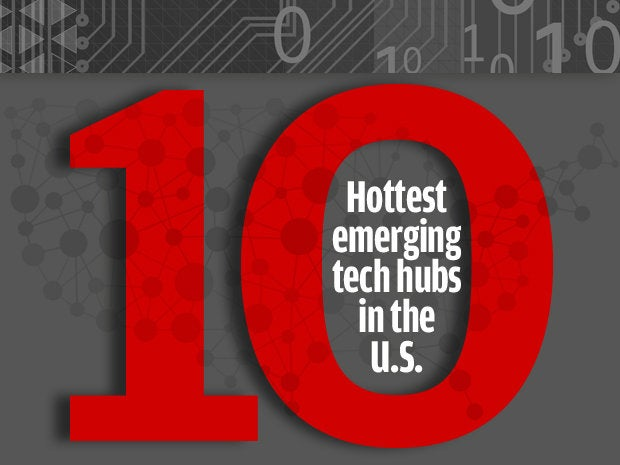 10 cities with fast-emerging tech hubs