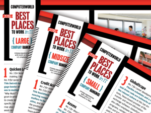 Digital download: Profiles of all 100 Best Places to Work in IT 2016