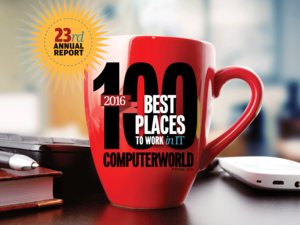 Computerworld's Best Places to Work in IT 2016