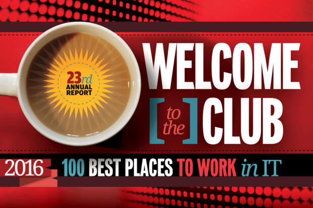 Computerworld\'s Best Places to Work in IT 2016 - Welcome to the Club