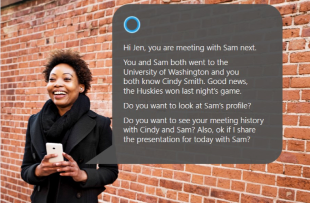 Microsoft LinkedIn acquisition Cortana