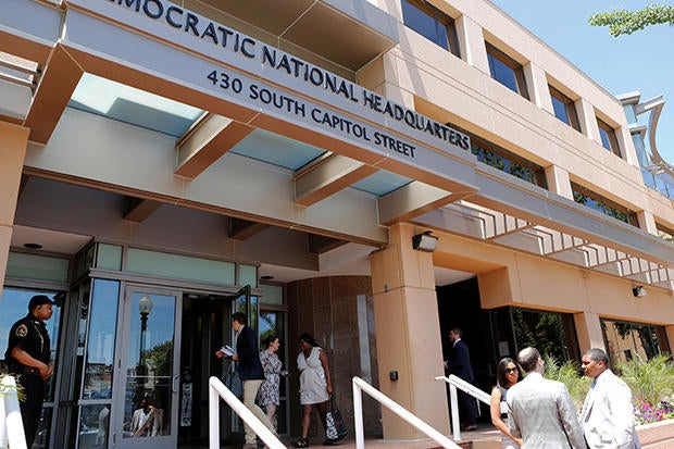 Russian hackers have breached the Democratic National Committee.
