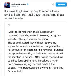 DoNotPay Joshua Browder