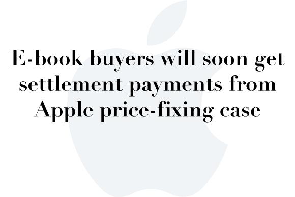 ebook settlement
