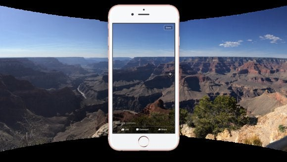facebook 360 degree photos
