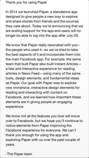 facebook paper rip