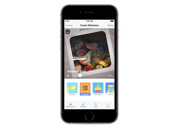 facebook slideshows