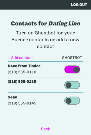 ghostbot contacts
