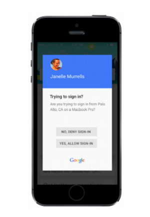 google sign in iphone