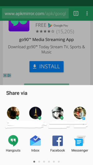 Hangouts 10.0 is improving its sharing capabilities on ...