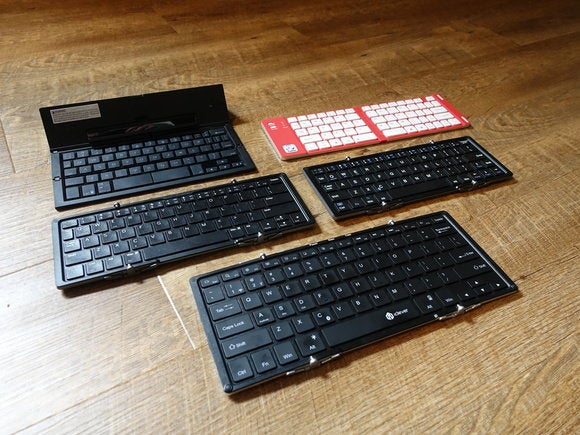 Folding Keyboards - Multiple Keyboards