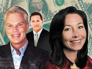 Tech CEOs rake in the big bucks