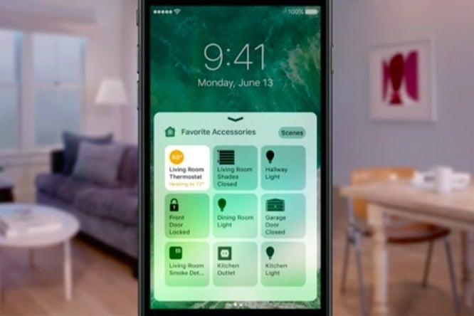 homekit 39 s official home app will control all your. Black Bedroom Furniture Sets. Home Design Ideas