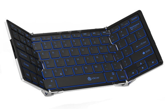 e62c3ff8b73 iClever Backlit Foldable Keyboard review: This portable keyboard is ...