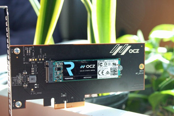 OCZ RD400 PCIe NVMe drive