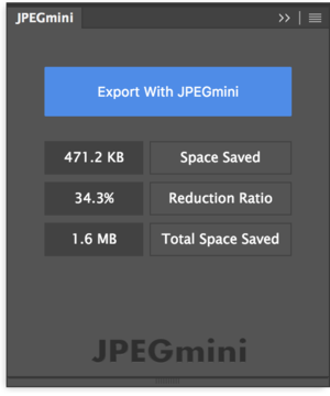 jpegmini pro for photoshop panel