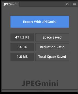 jpegmini pro for photoshop panel