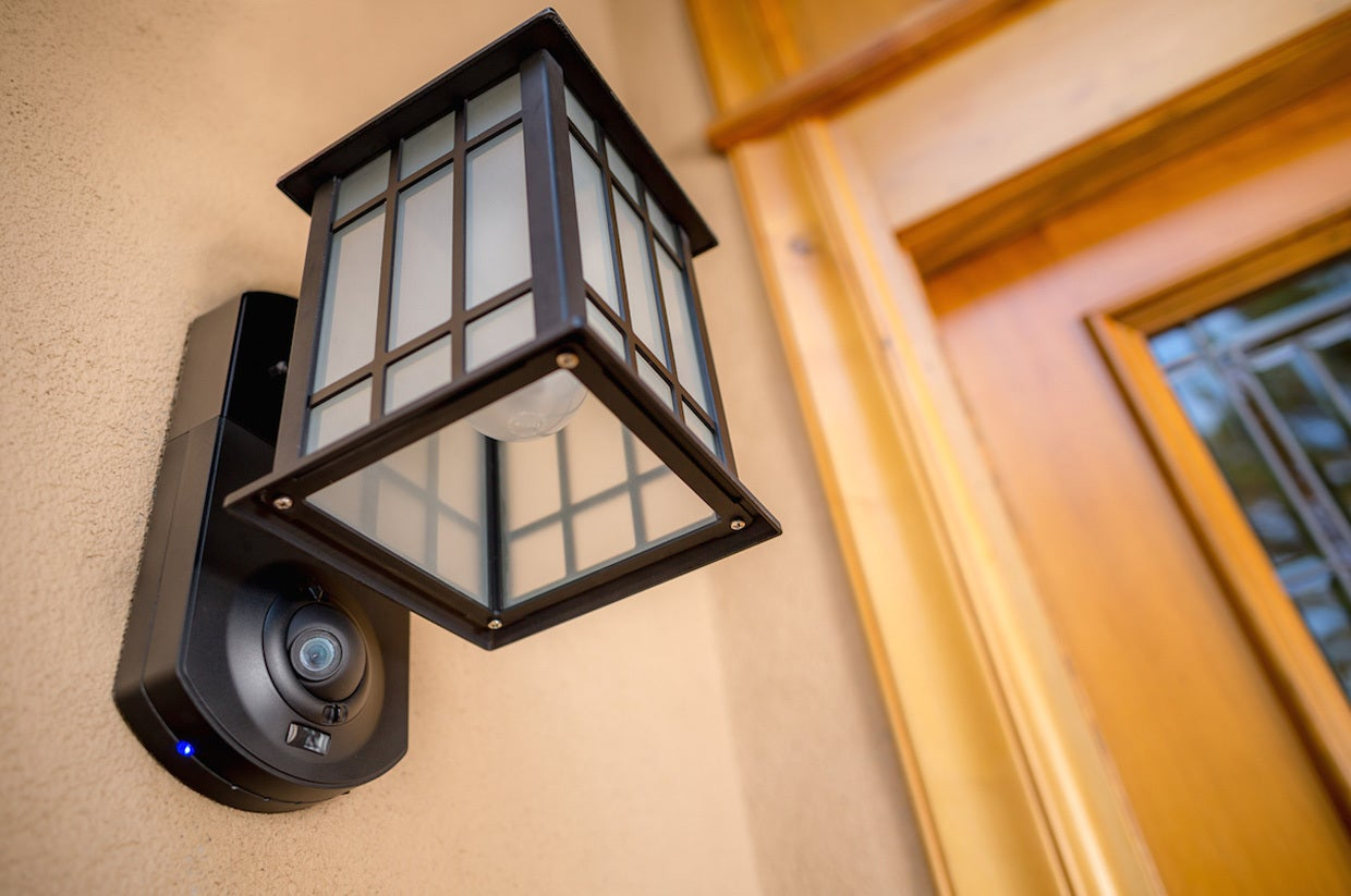 Kuna Security Light Review A Great Product But Consider The Full Basic Household Wiring Fixture