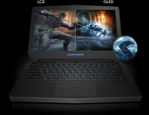 Dell's Alienware 13 with OLED screen