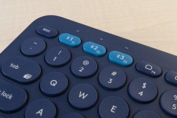 logitech k380 multi device bluetooth keyboard detail