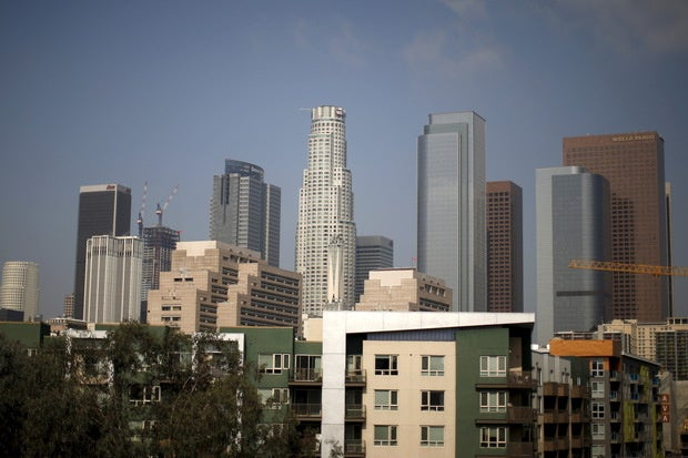 los angeles skyline apartments