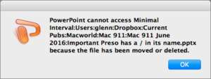 mac911 cant access file