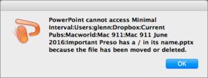mac911 cant access file